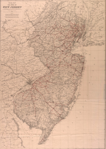 New Jersey Road Map (1903)